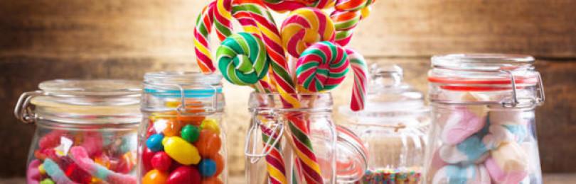 Чем заменить конфеты