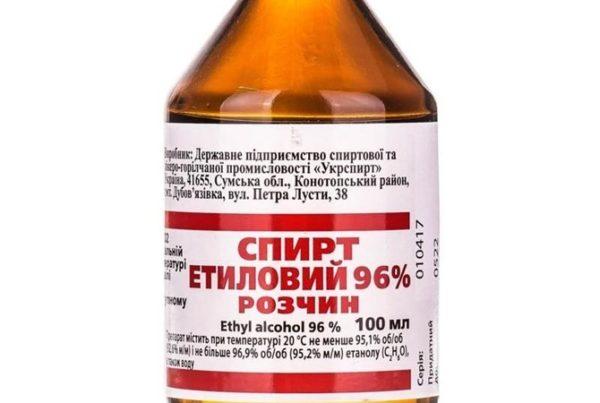 Чем заменить этиловый спирт